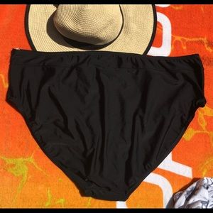 St. John's Bay Swim - COPY - St John's Bay Bikini Botton Black 22W
